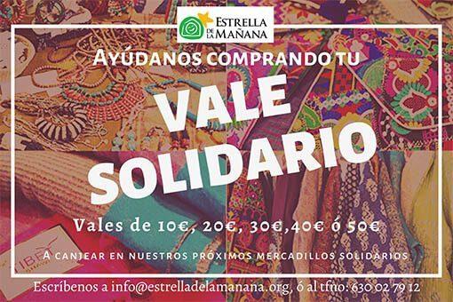 Venta Vales solidarios
