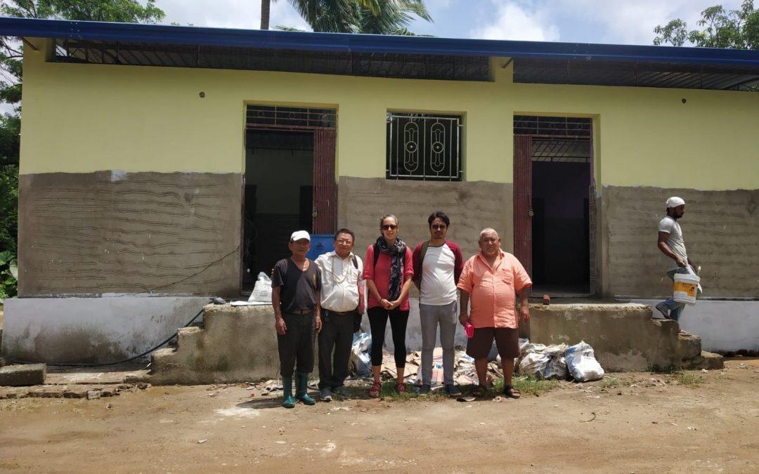 Campo 3: Construcción de baños públicos