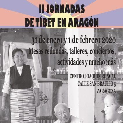 II Jornadas del Tibet en Aragón