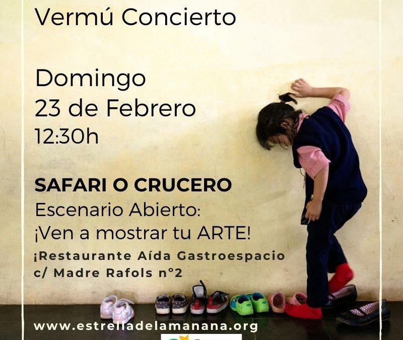 Vermú Concierto Solidario